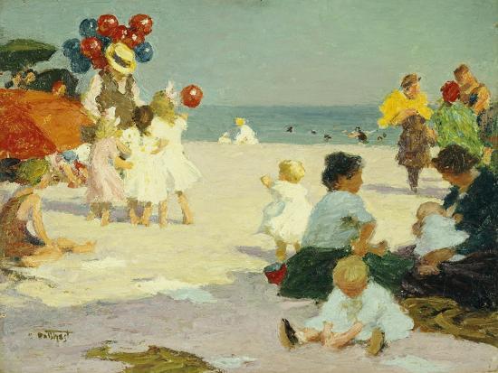 edward-henry-potthast-on-the-beach