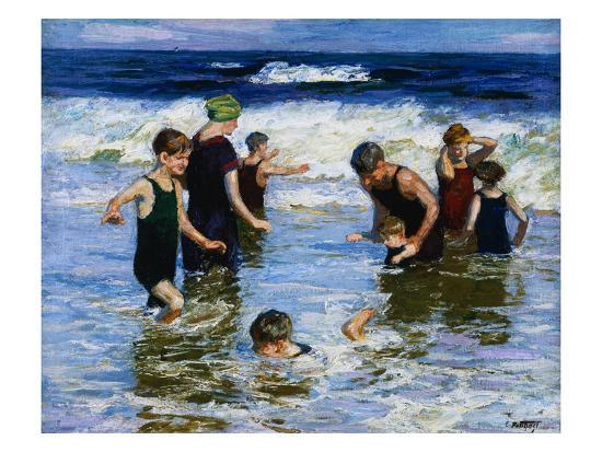 edward-henry-potthast-the-bathers