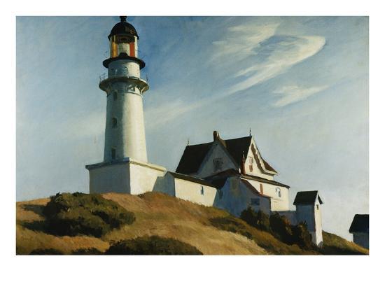 edward-hopper-lighthouse-at-two-lights