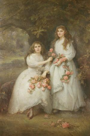edward-hughes-portrait-of-the-daughters-of-the-duke-of-manchester-1894