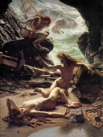 edward-john-poynter-the-cave-of-the-storm-nymphs-1903