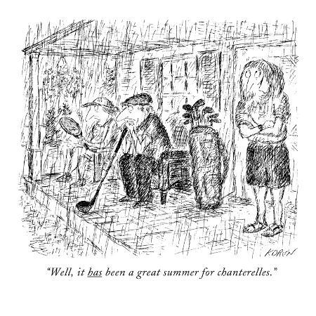 edward-koren-well-it-has-been-a-great-summer-for-chanterelles-new-yorker-cartoon