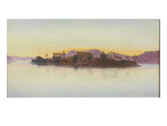 edward-lear-coucher-de-soleil-sur-l-ile-de-philae