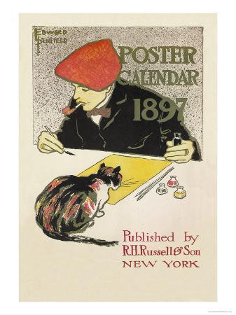 edward-penfield-poster-calendar-1897