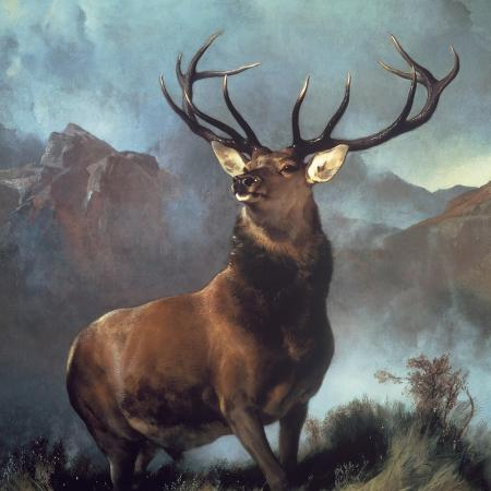 edwin-henry-landseer-monarch-of-the-glen