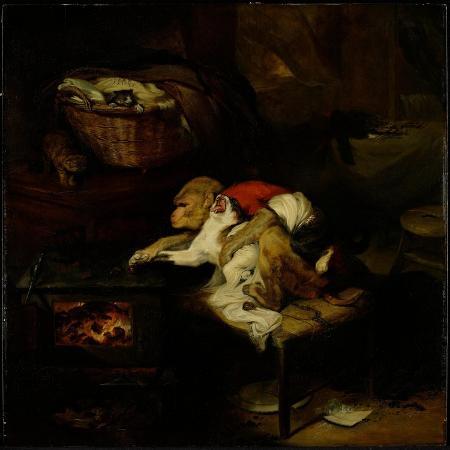 edwin-landseer-the-cat-s-paw-c-1824