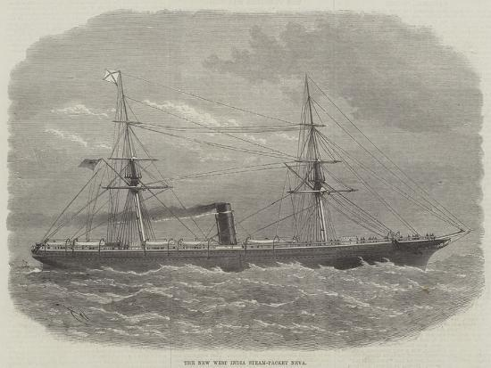 edwin-weedon-the-new-west-india-steam-packet-neva