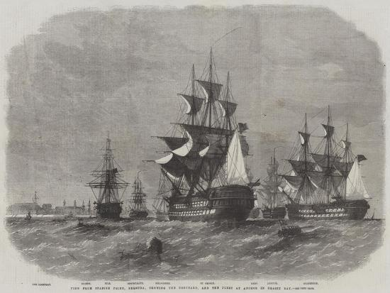 edwin-weedon-view-from-spanish-point-bermuda-showing-the-dockyard-and-the-fleet-at-anchor-in-grassy-bay
