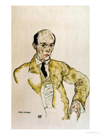egon-schiele-composer-arnold-schoenberg-1917