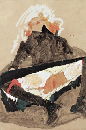 egon-schiele-girl-in-black-dress-with-her-legs-spread-1910