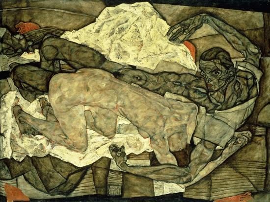 egon-schiele-lovers-man-and-woman-i-liebespaar-mann-und-frau-i-1914