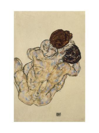 egon-schiele-umarmung-embrace-1917