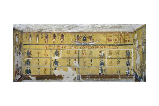 egypt-valley-of-the-kings-west-valley-tomb-of-ay-burial-chamber-northern-wall-mural-paintings