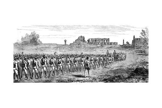 egyptian-troops-at-karnak-egypt-1889
