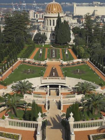 eitan-simanor-bahai-shrine-and-gardens-haifa-israel-middle-east