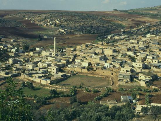 eitan-simanor-view-from-above-of-palestinian-village-of-gilboa-mount-gilboa-palestinian-authority-palestine