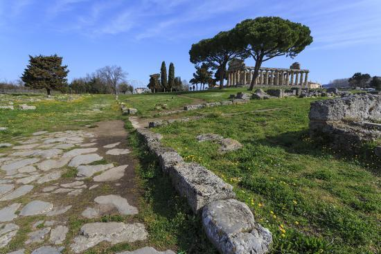 eleanor-scriven-temple-of-athena-temple-of-ceres-paestum-greek-ruins-campania-italy