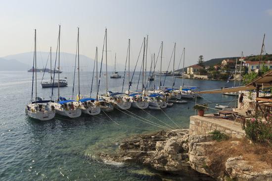 eleanor-scriven-yachts-and-ships-at-anchor-fiskardo-kefalonia-cephalonia