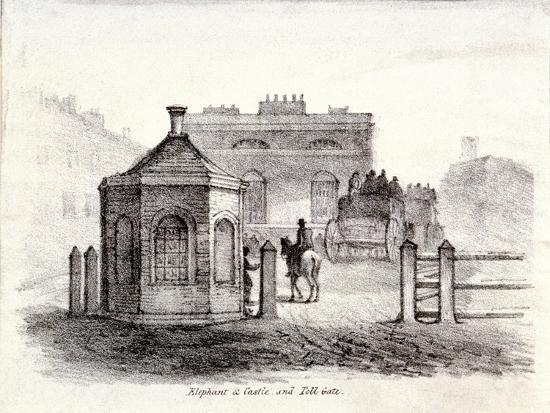 elephant-and-castle-inn-newington-causeway-southwark-london-c1830