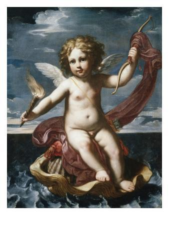 elisabetta-sirani-cupid-with-a-torch