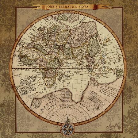 elizabeth-medley-damask-world-map-ii