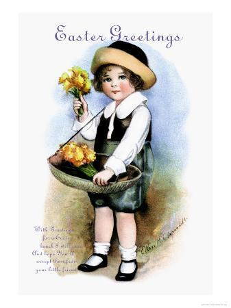 ellen-h-clapsaddle-with-greetings-for-easter