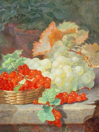 eloise-harriet-stannard-redcurrants-and-grapes-1864