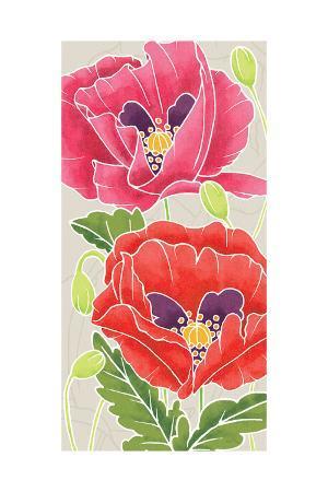 elyse-deneige-sunshine-poppies-panel-ii