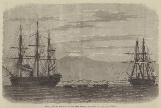 embarkation-of-the-body-of-the-late-emperor-maximilian-at-vera-cruz-mexico