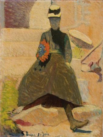 emile-bernard-woman-at-saint-briac-1886