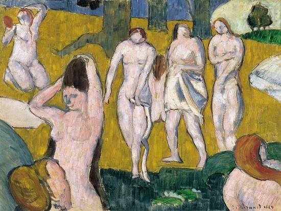 emile-bernard-women-bathing