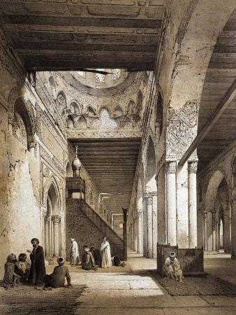 emile-prisse-d-avennes-mosque-of-ibn-tulum