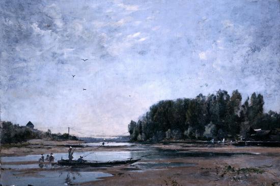 emmanuel-lansyer-fishing-boats-on-the-loire-1865