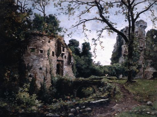 emmanuel-lansyer-the-bastion-of-the-elms-1884