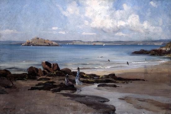 emmanuel-lansyer-woman-s-bathing-beach-1876
