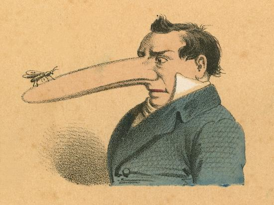 english-school-man-with-fly-on-the-end-of-his-long-nose