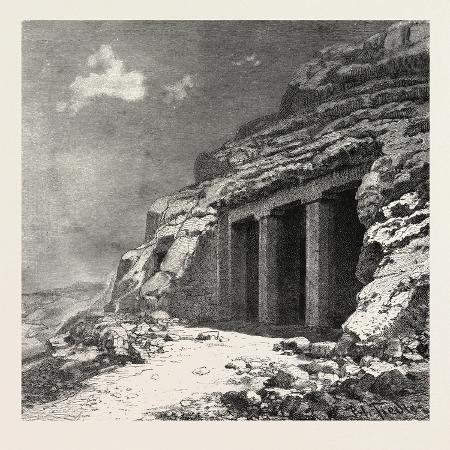 entrance-of-the-tomb-at-beni-hasan-egypt-1879