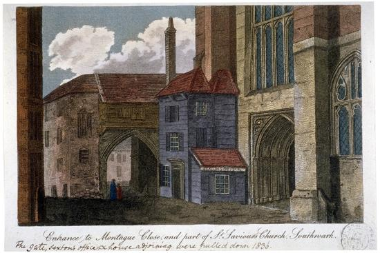 entrance-to-montague-close-and-part-of-southwark-cathedral-london-c1830