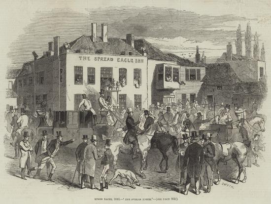 epsom-races-1846-the-spread-eagle