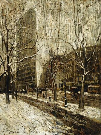 ernest-lawson-the-flatiron-building-new-york
