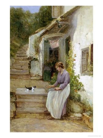 ernest-walbourn-playing-with-the-kitten