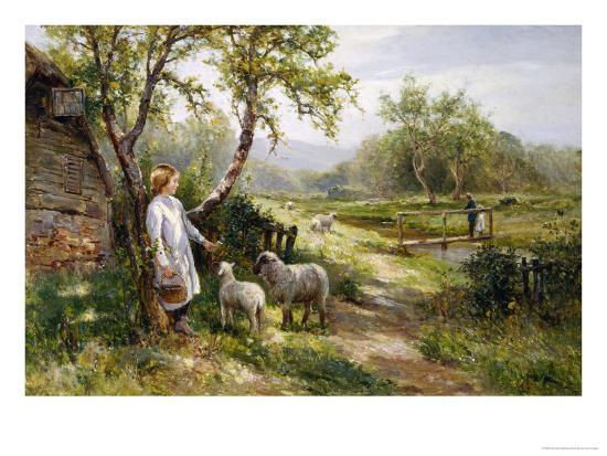 ernest-walbourn-spring-lambs