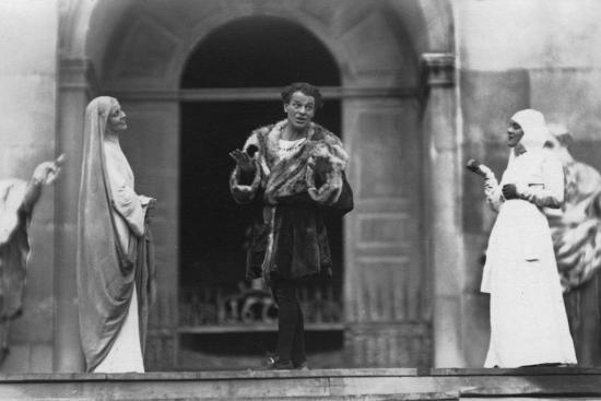 ernst-maier-performance-of-jedermann-salzburg-festival-austria-20th-century