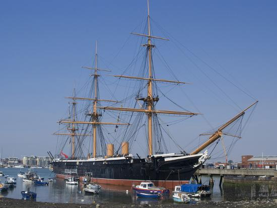 ethel-davies-hms-warrior-1st-armour-plated-iron-hulled-warship-built-for-royal-navy-1860-portsmouth-england