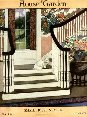 ethel-franklin-betts-baines-house-garden-cover-july-1917