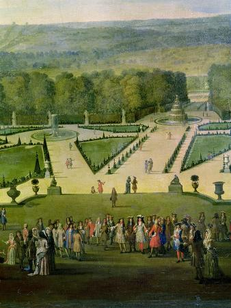 etienne-allegrain-promenade-of-louis-xiv-by-the-parterre-du-nord-detail-of-louis-and-his-entourage-circa-1688