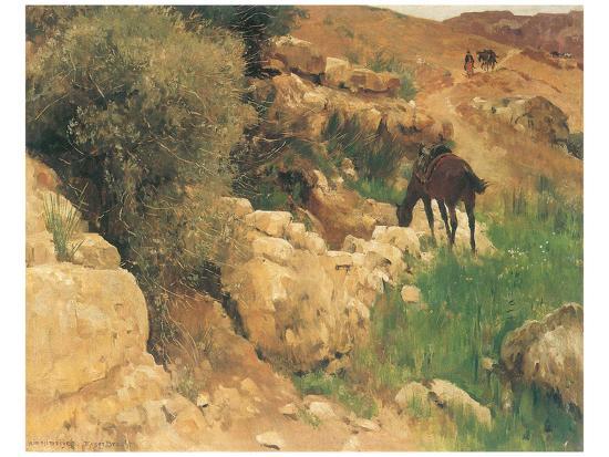 eugen-bracht-ancient-source-in-syria