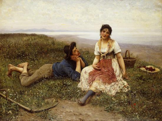 eugen-von-blaas-flirtation-1887