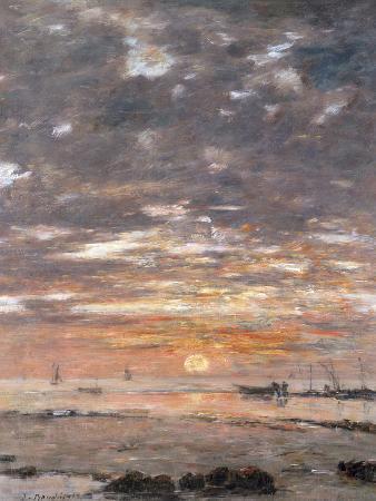 eugene-boudin-maree-basse-soleil-couchant-1883