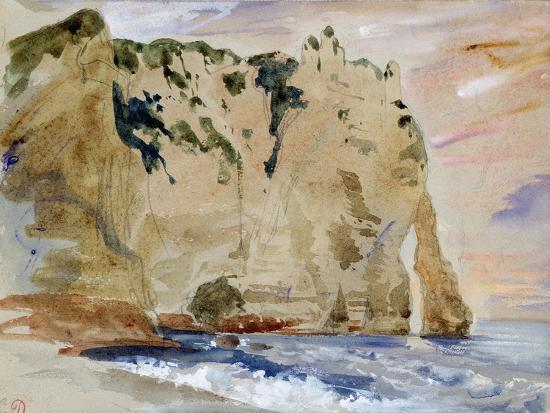 eugene-delacroix-cliffs-of-etretat-the-pied-du-cheval-1838-w-c-and-gouache-on-paper